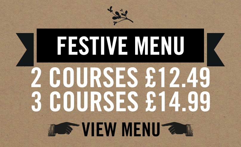 Festive Menu at The Beverley