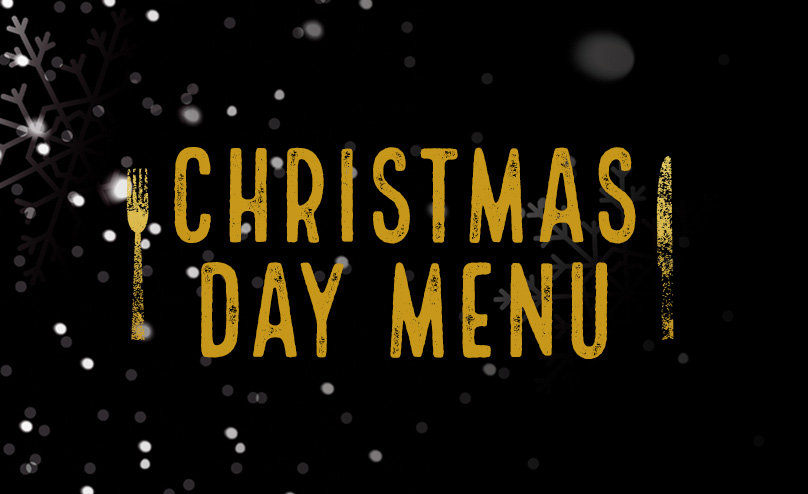 Christmas Day Menu at The Beverley