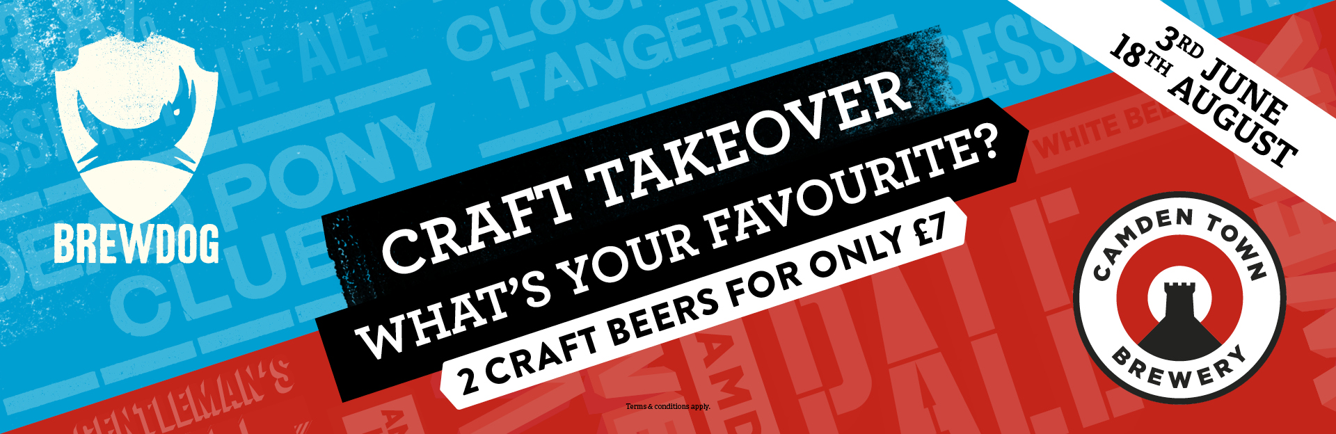 Craft Takeover at The Beverley Hotel